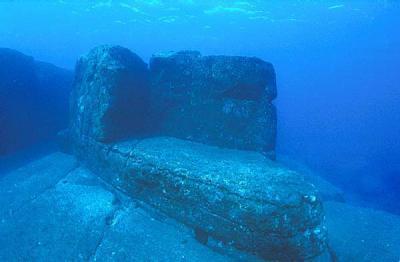 Недалеко от Японии найден подводный город
