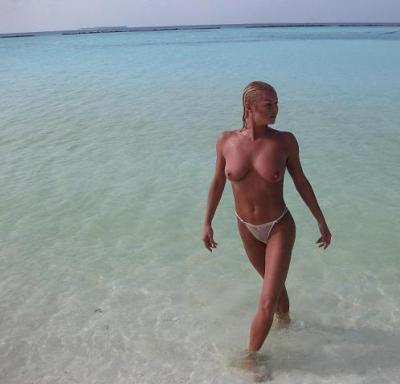 отдых Волочковой на Мальдивах