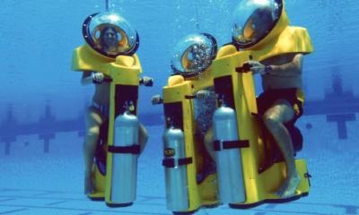 Подводный скутер заменит туристам