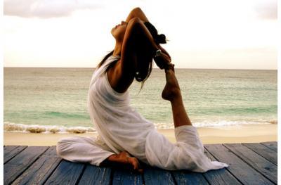 Худеем на дайвинге и йоге