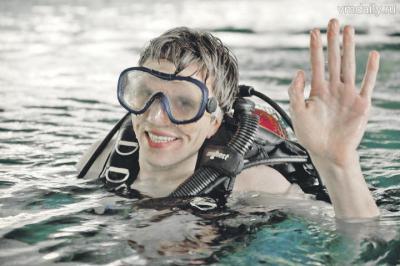 Под водой мы свободны, мы можем летать, парить, как птицы, и даже ходить!