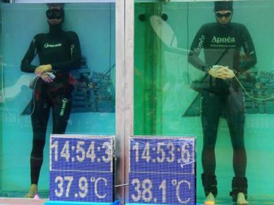 Немецкий фридайвер установил рекорд, задержав дыхание на 22 минуты