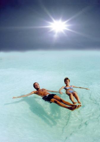 В Мертвом море разрешили заниматься дайвингом